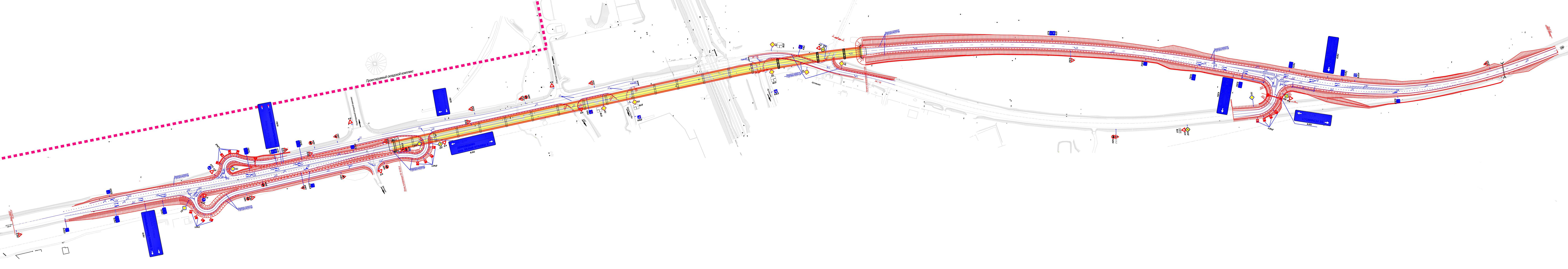 проект развязки на можайском шоссе схема