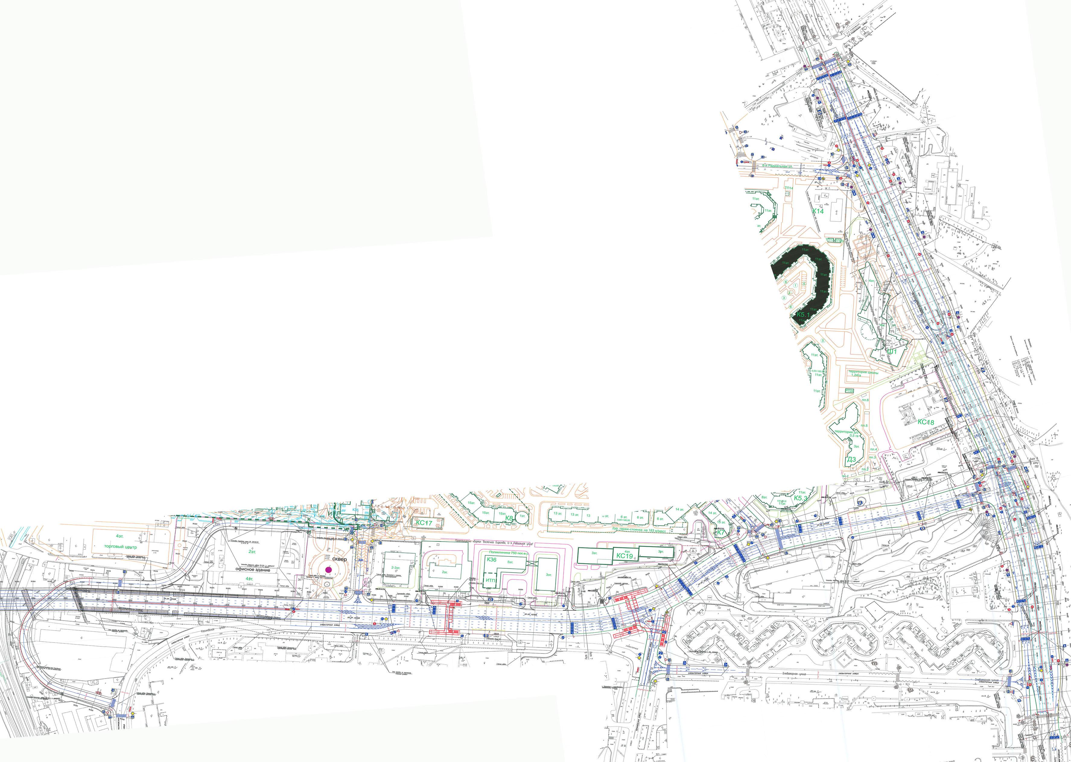 схема липецкой кольцевой автодороги