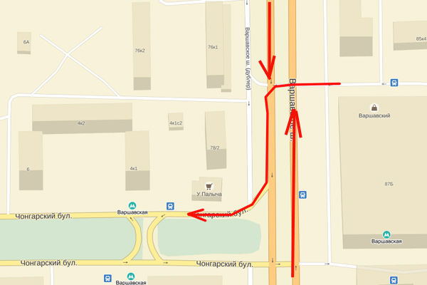 Обе проблемы Варшавского шоссе