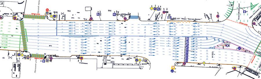 Новый проект ОДД у площади Красные ворота
