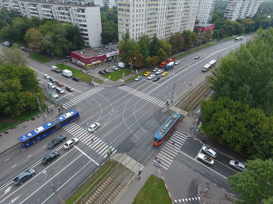 Новая разметка на проезде Дежнева!