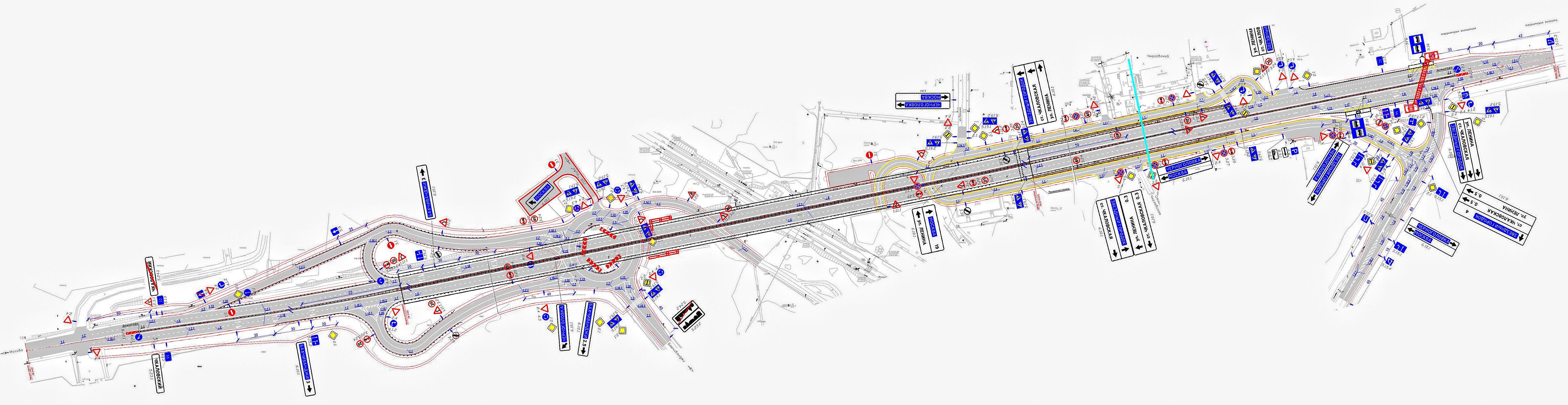 схема развязки киевское шоссе