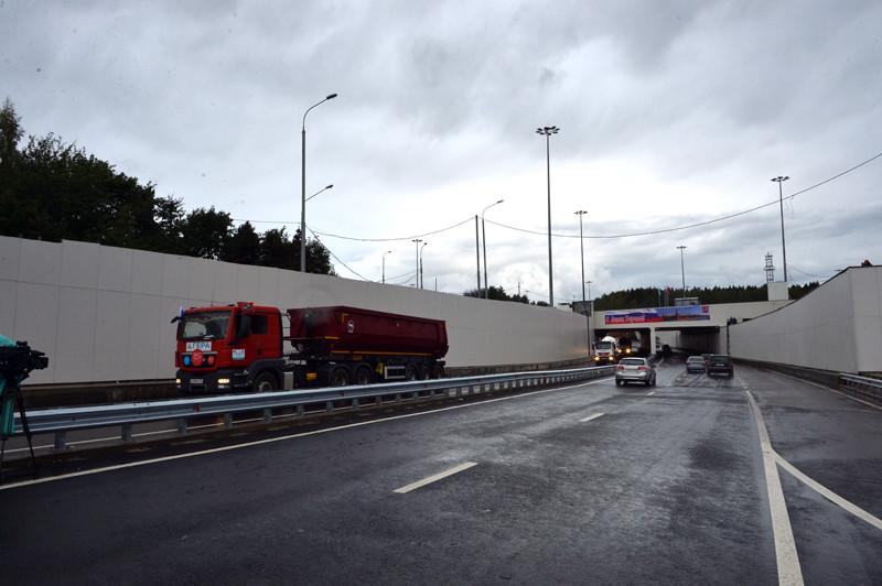Тоннель на 41 км Ленинградского шоссе