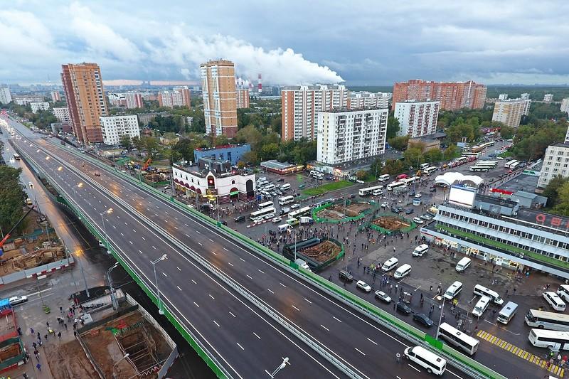 Калужское шоссе: тоннель у поселка Газопровод
