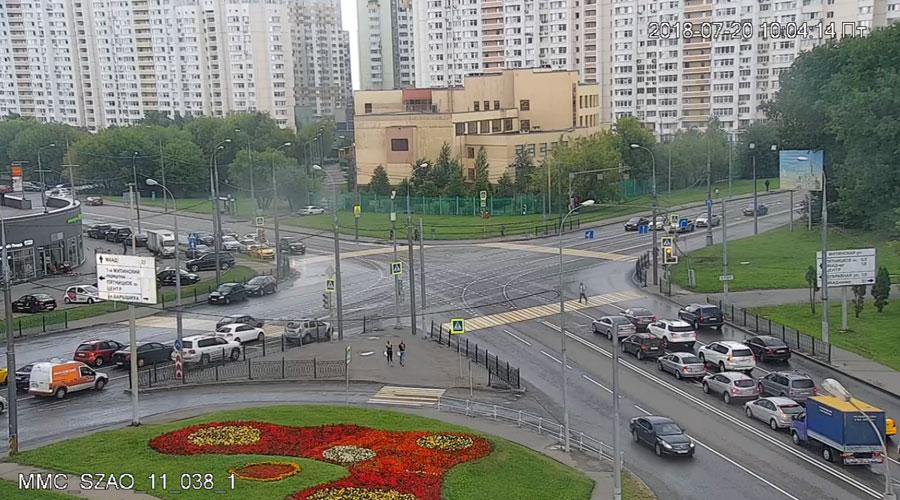 перекресток Митинской ул., ул. Барышиха, 1-го Митинского пер.