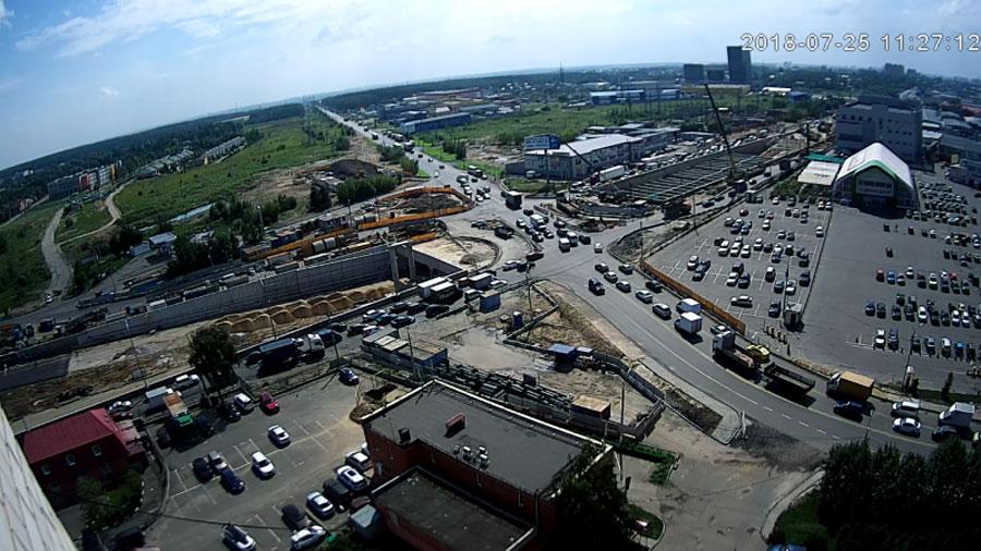 реконструкция Варшавского шоссе в Щербинке