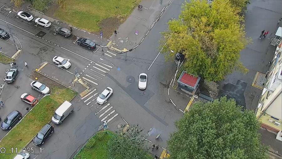 перекресток Вишневая улица - Тушинская улица - Вишневый проезд