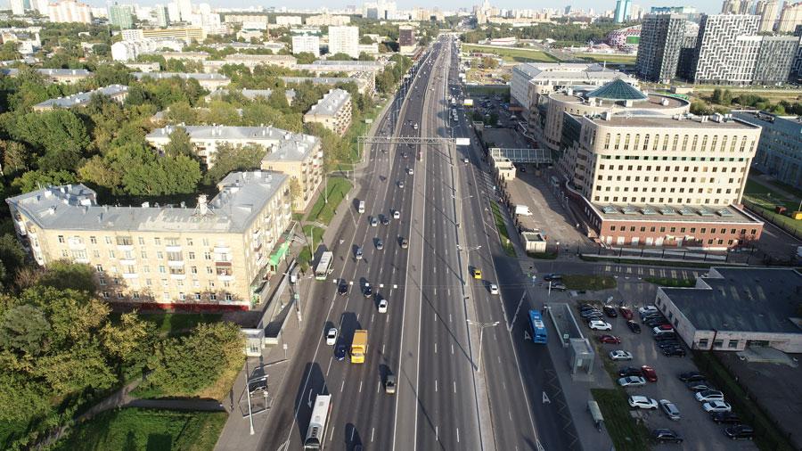 Волоколамское шоссе - Волоколамская эстакада
