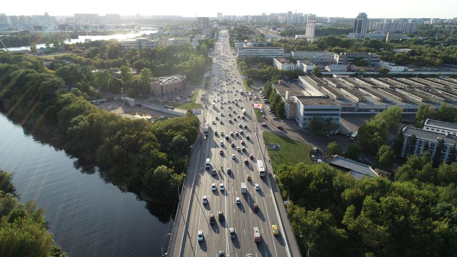 Волоколамское шоссе перекресток с Походным проездом