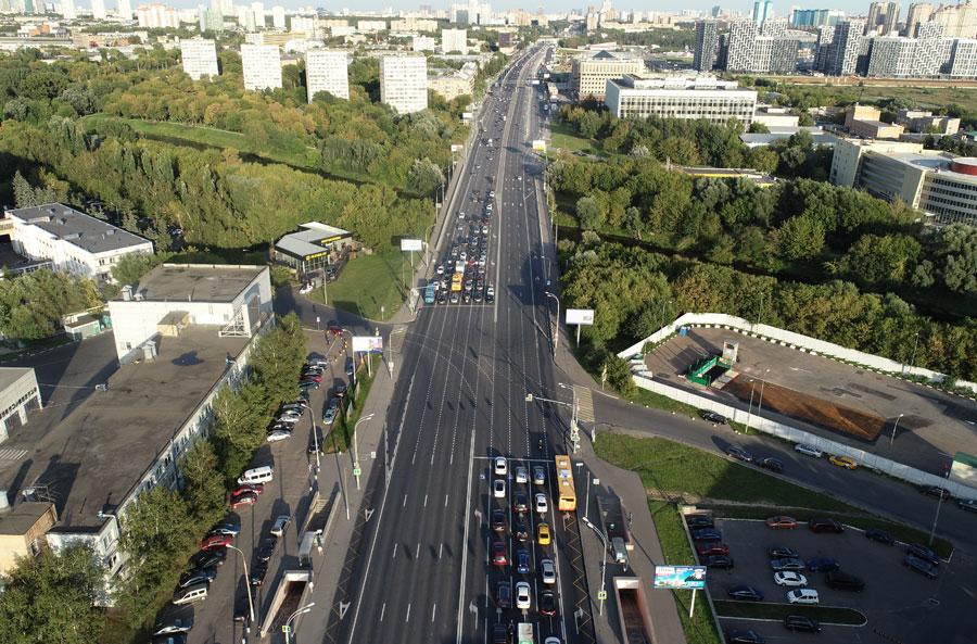 Волоколамское шоссе перекресток с Проектируемым проездом 3959