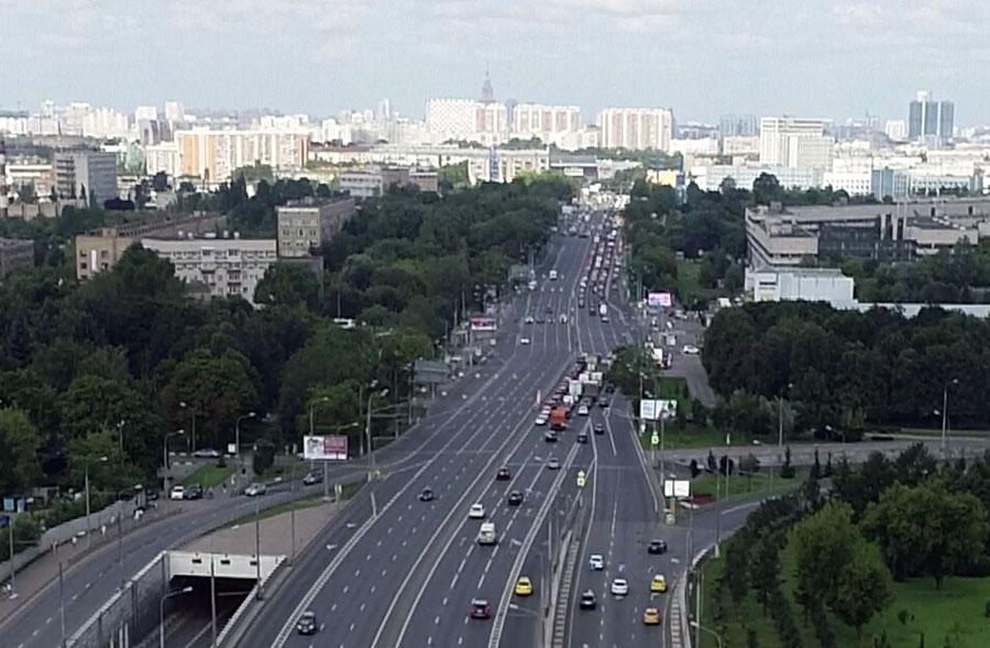 Каширское шоссе - Пролетарский проспект - метро Каширская