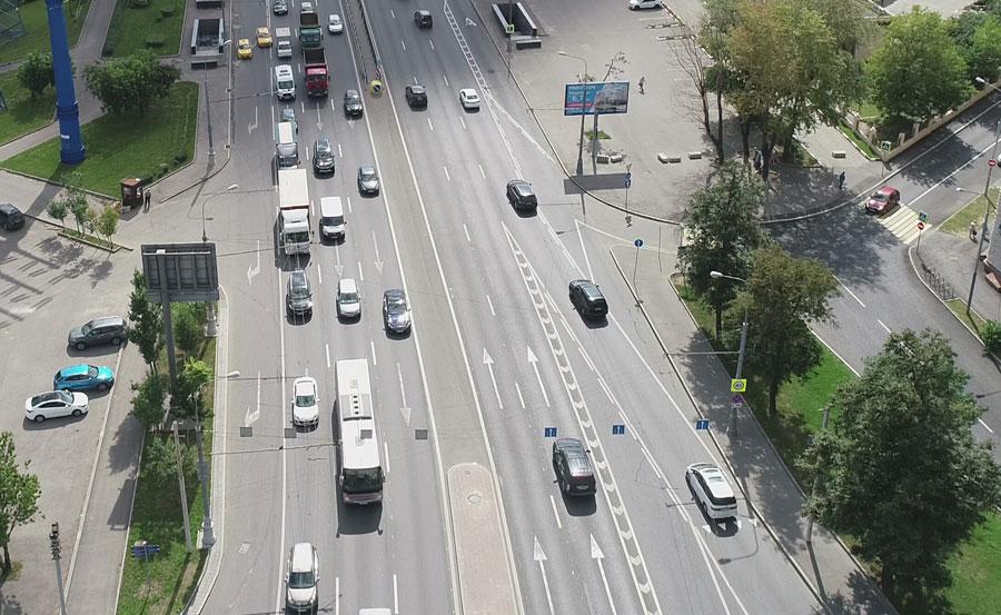 Каширское шоссе - Коломенский проезд в область