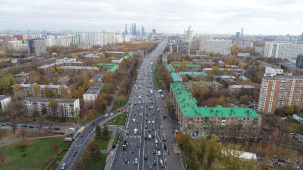 Как ЦОДД Кутузовский проспект разогнал