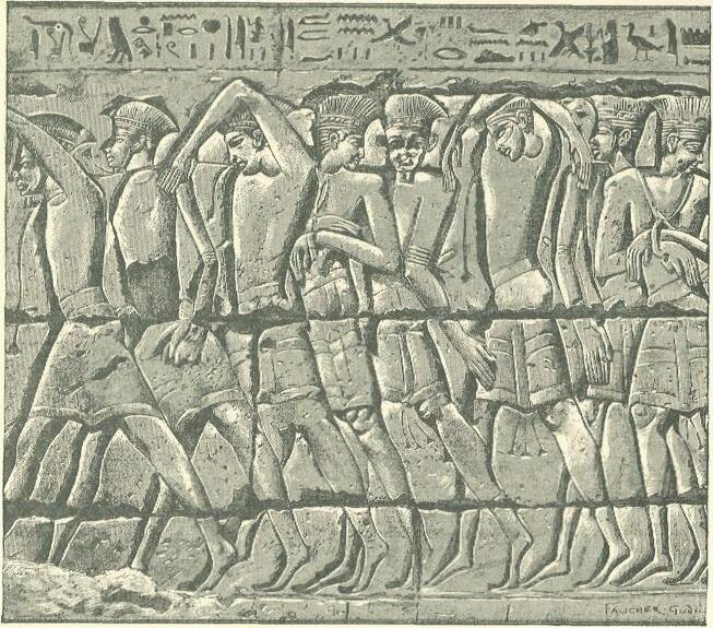 Philistine_captives_at_Medinet_Habu