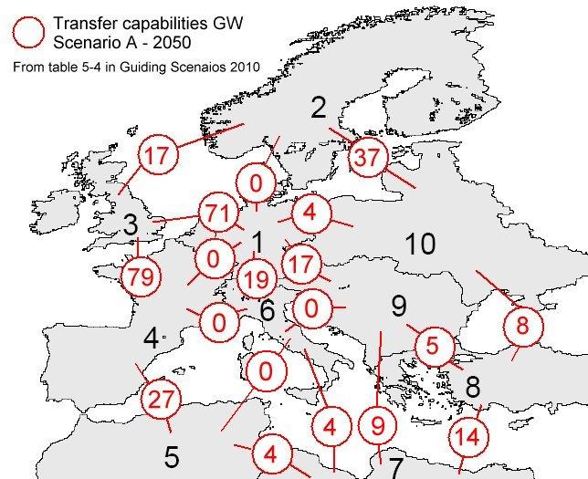 BMU Stromübertragungsleistungen Karte Leitscen 2010
