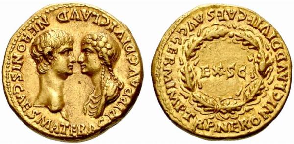 Nero_Agrippina_aureus_54