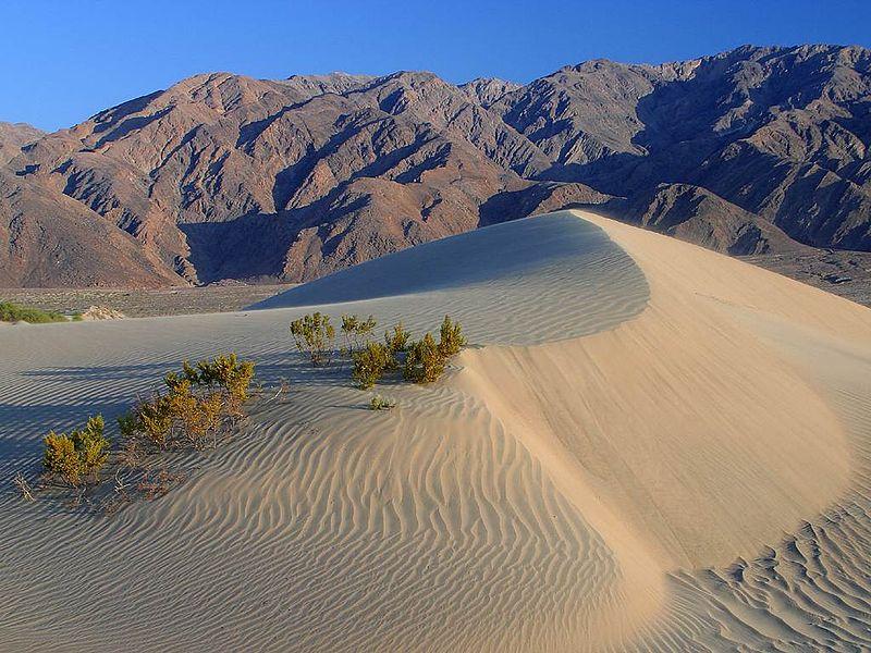 Death-valley-sand-dunes