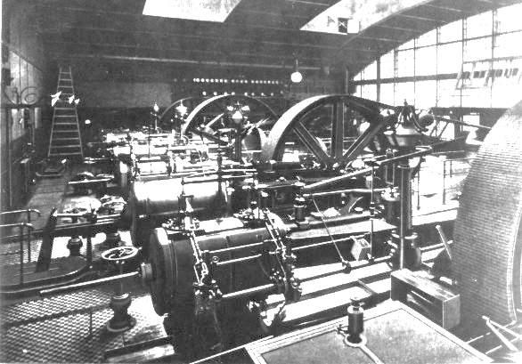 108 Электростанция в Зимнем Дворце, 1900г