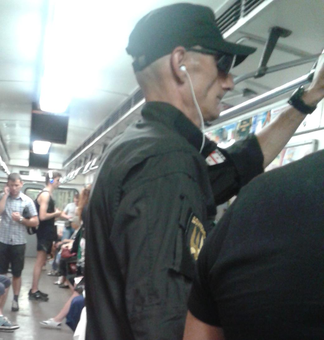 В вагоне простого киевского поезда