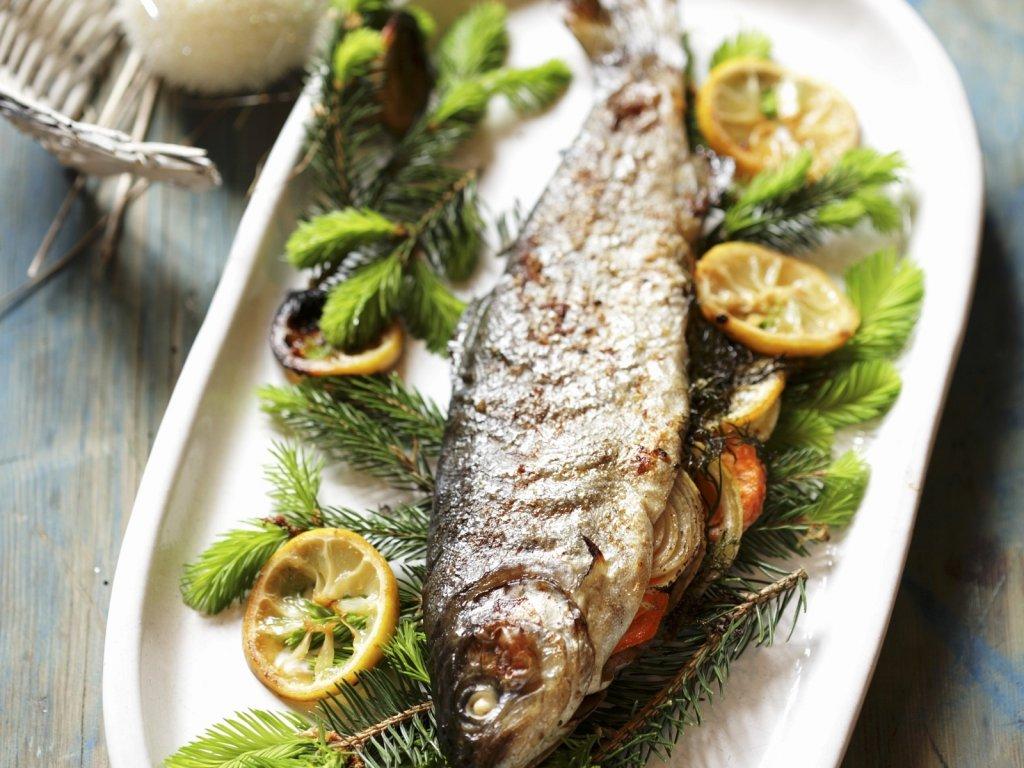 Блюда из речной форели рецепты с фото