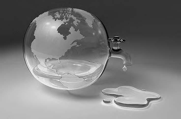 Через 17 лет земле грозит острая нехватка воды