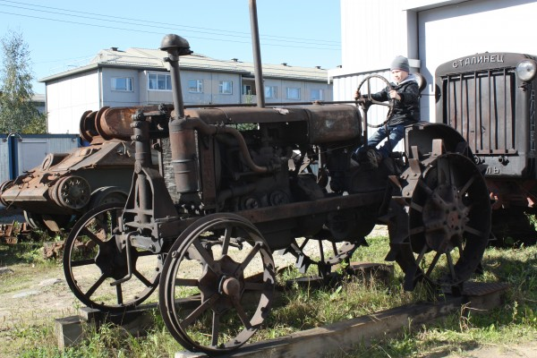 Трактор начала 20-го века