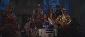 Return of the Jedi Final Scene