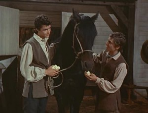 FELICES LOG JOHNNY TREMAIN 1957 Screencaps Gallery