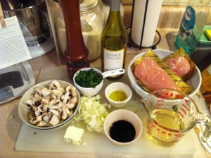 chic  mise en place