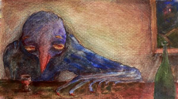 синяя птица похмелья
