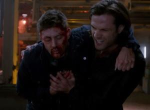 spn_923 Dean dying Sam