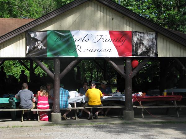 Reunion pavilion