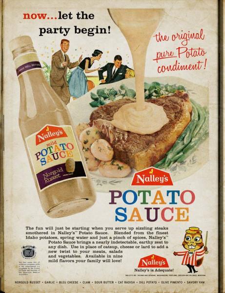 Potato sauce