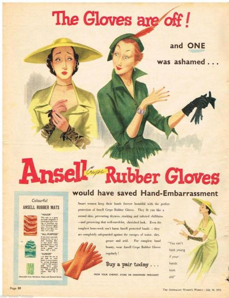 ansell gloves
