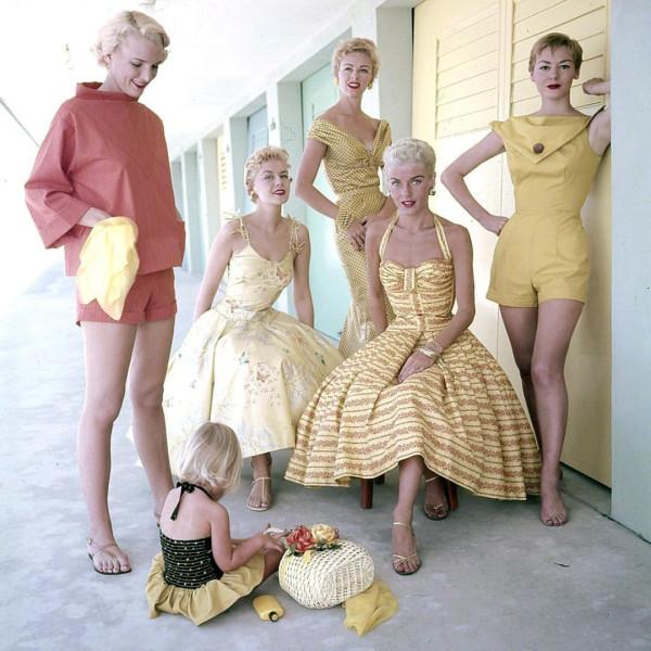 1950s womens fashion