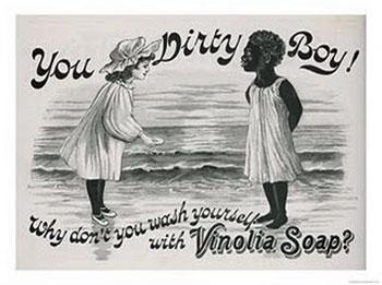 Vinolia soap racist