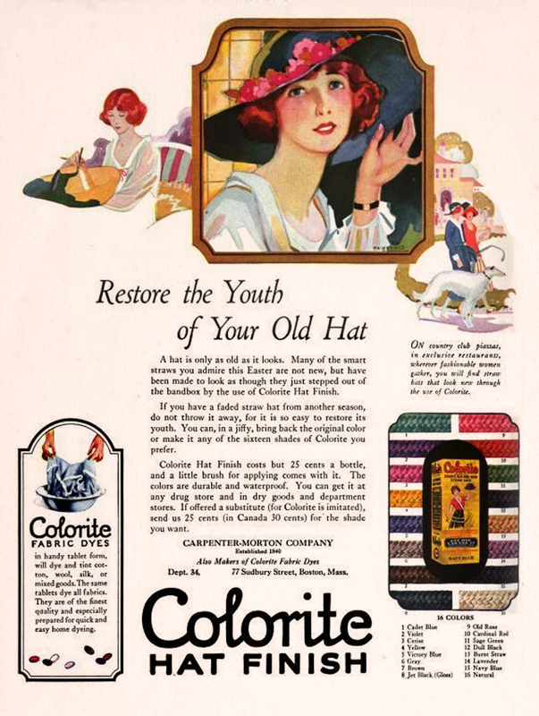 Colorite Hat Finish