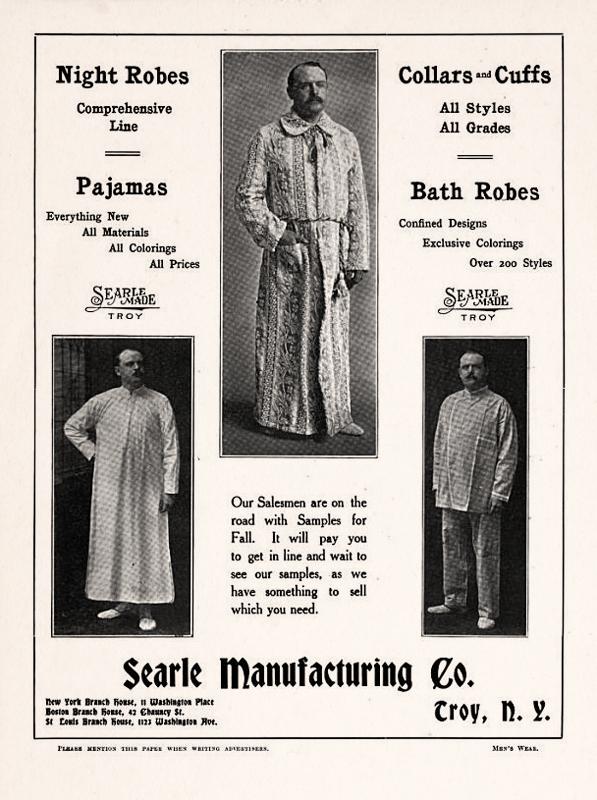 Mens robes 1908