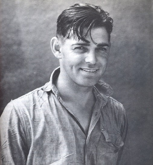 Clark Gable one smaller