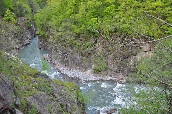 Гранитный каньон, река Белая
