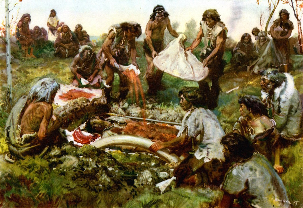paleolithic societies Human life in the era of hunters and gatherers by the end of the paleolithic or old stone age in 12,000 bc, humans had human societies had proven themselves.