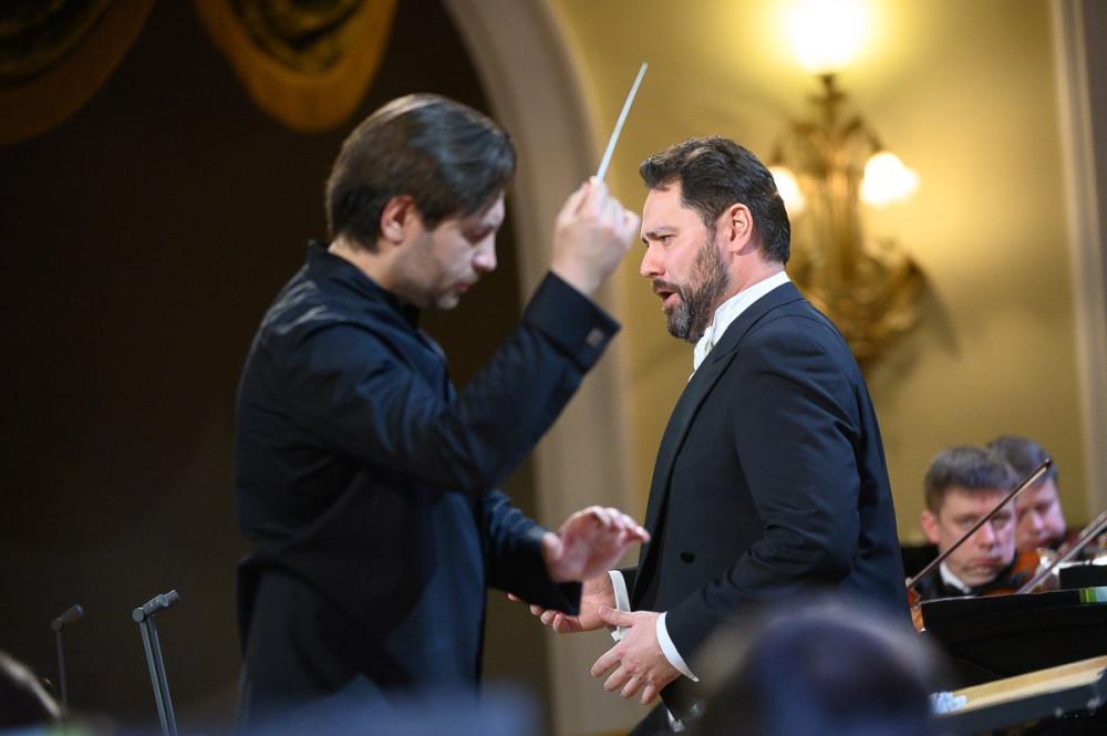 Ильдар Абдразаков и Михаил Татарников