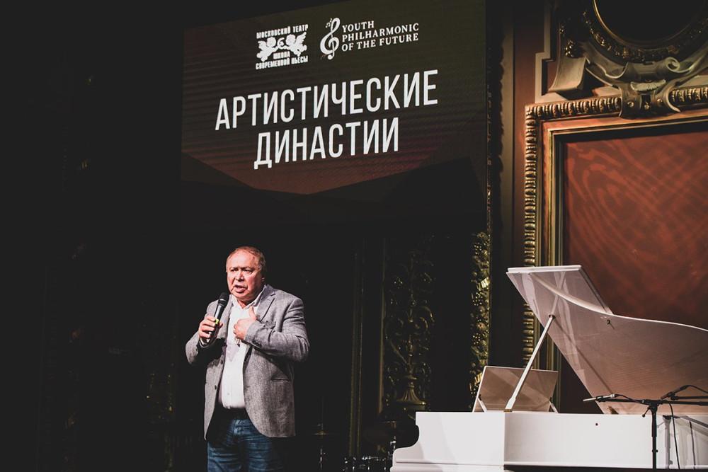 Художественный руководитель Театра Школа Современной пьесы Иосиф Райхельгауз фото Ольги Швецовой  DSC_9840