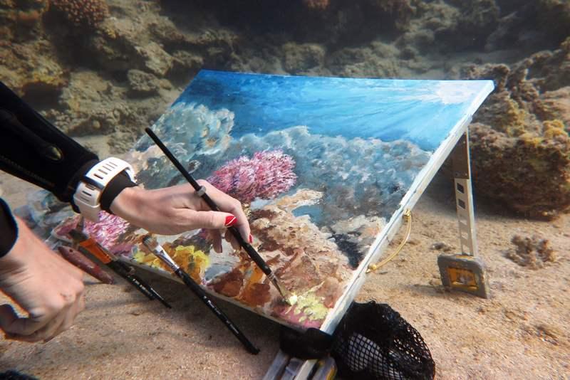 ПОДВОДНАЯ ЖИВОПИСЬ Ольги Белкиной: moscultura — LiveJournal