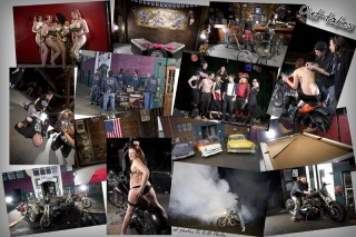 Club Motor 2009 Calendar - photo collage from back