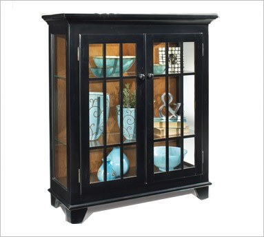 case modern large curio mission full of wall what size black put console cabinet corner display style to kitchen