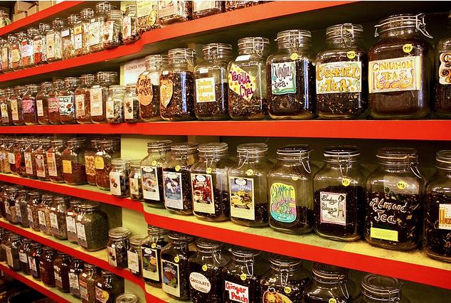 Obligatory wall o tea