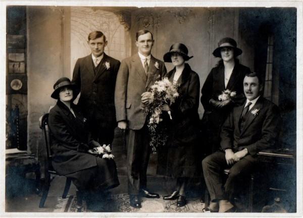 Aunty Nellie's wedding for LJ