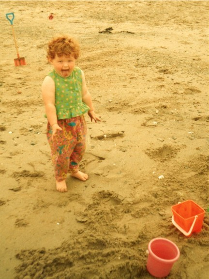 Beach, aged about 2
