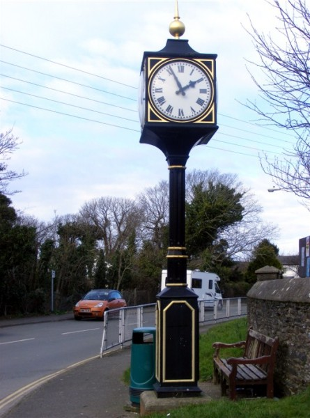 Andreas Village Millenium Clock